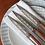 Thumbnail: 6 COUTEAUX DE TABLE GRAVES DEEJO