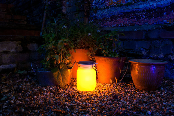 Lampe solaire / Solar lamp