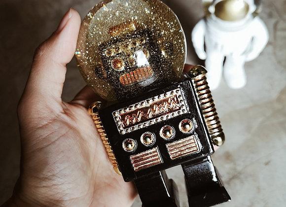 BOULE A NEIGE ROBOT