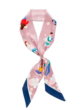 FOULARD PERSONNAGES