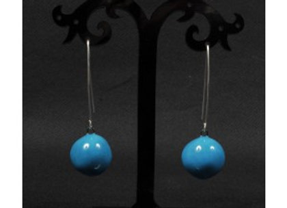 BO cerise Céramique / ceramical earings