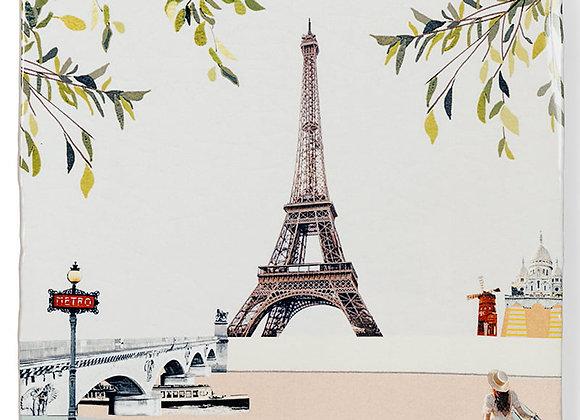 Petit tableau carrelage Tour Eiffel