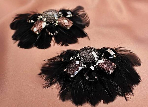 CLIPS A CHAUSSURES PLUMES