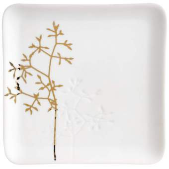 COUPELLE PLATE EN PORCELAINE