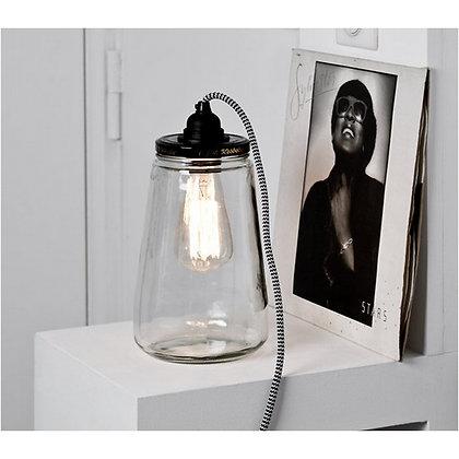 Lampe bocal à cornichons / Pickle jar lamp