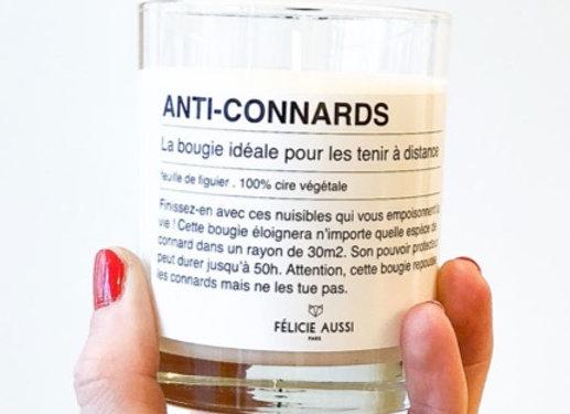 BOUGIE ANTI-CONNARDS