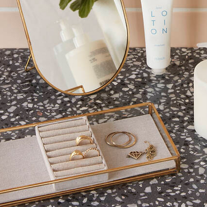 Boite à bijoux vitrine