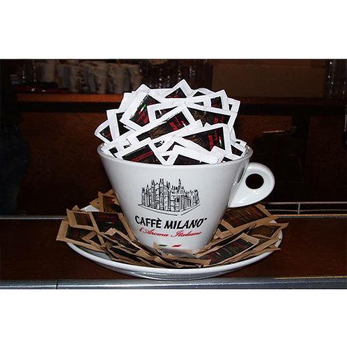 Tazza portazucchero bianca Caffè Milano