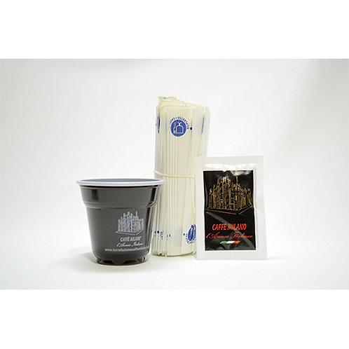 Kit Caffè Milano Zucchero, bicchieri e palette
