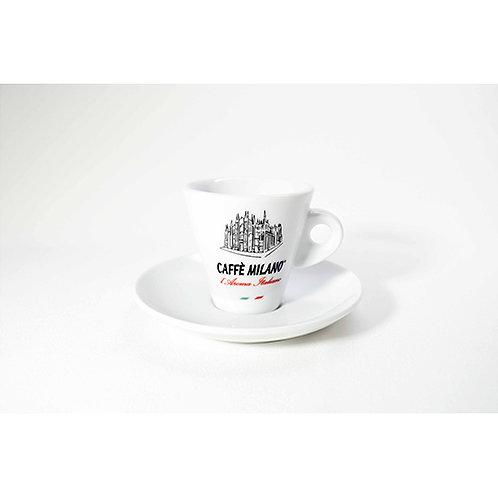 Tazzina caffè Milano bianca 12 pz