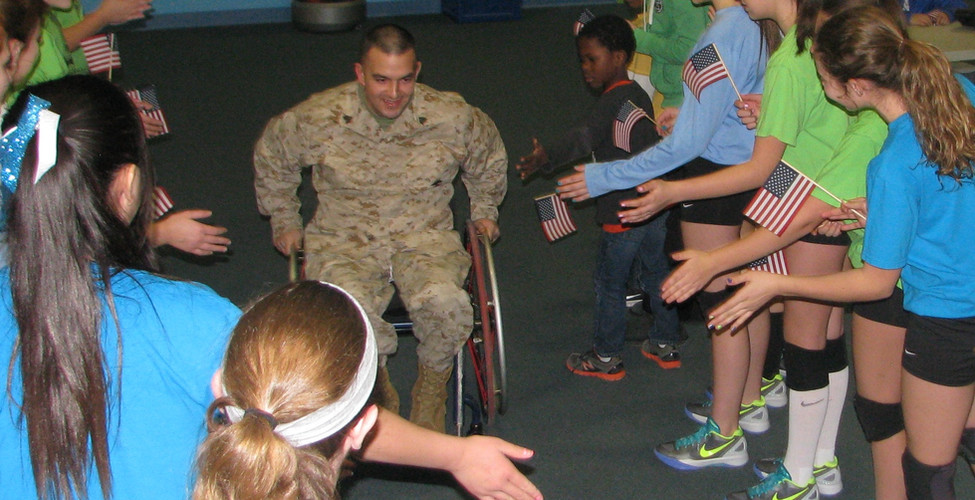Energy Volleyball Club Energizes Players & Servicemembers