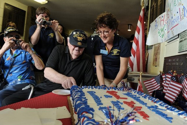 Wish Granted for 92-year old WWII Hero Veteran