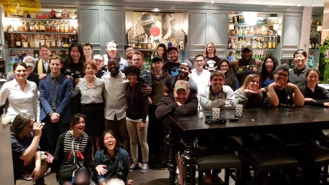 Crew photo at wrap