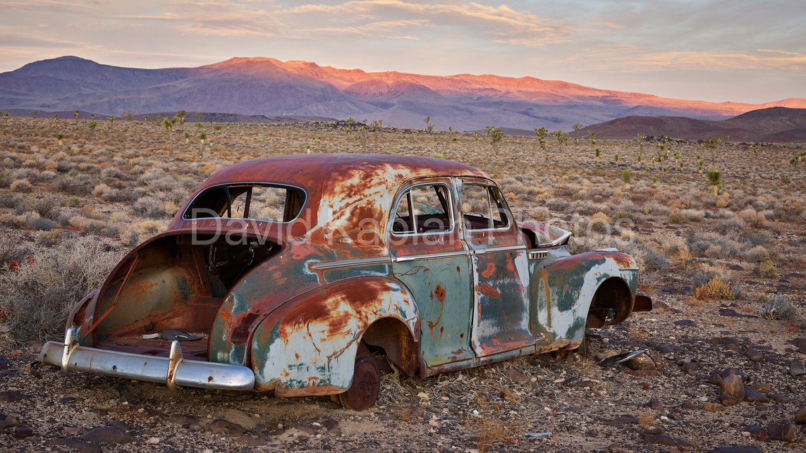 Rusting Away at Sunrise