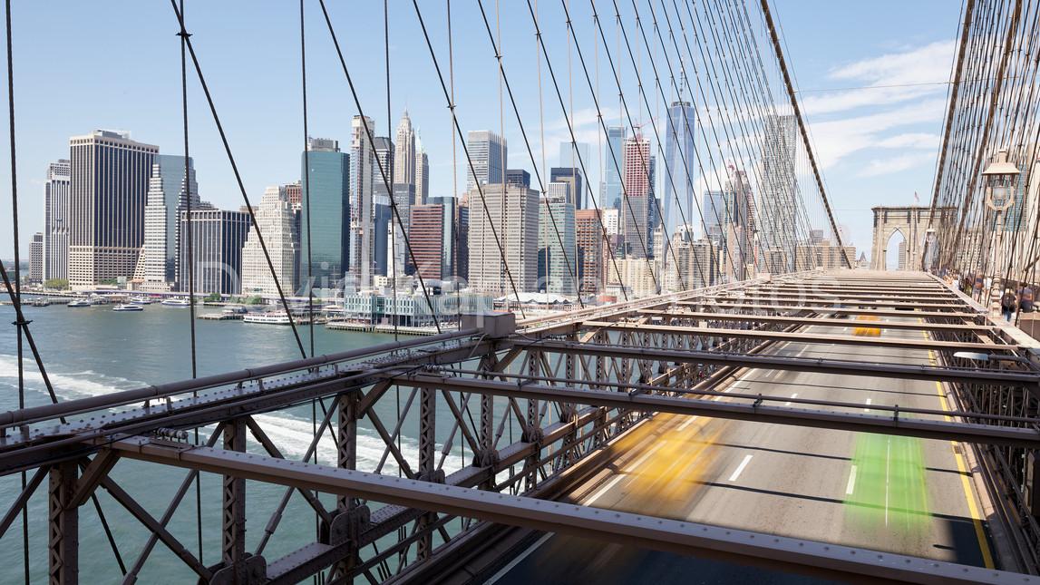 Brooklyn Bridge Blur