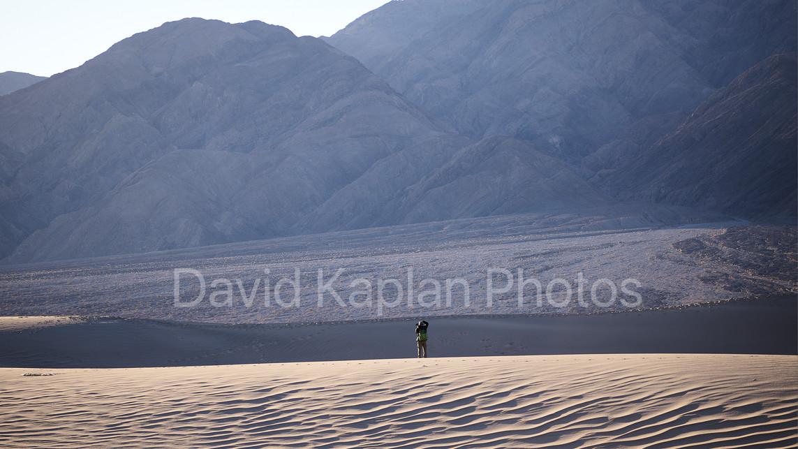 Robert in Death Valley