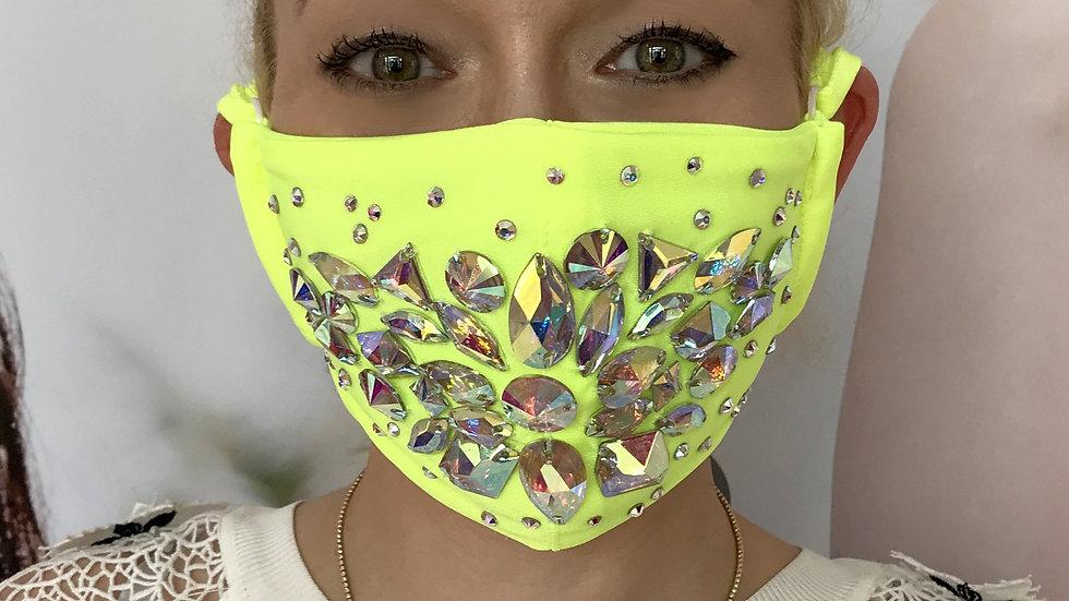 Shine Crystal Mask - Yellow