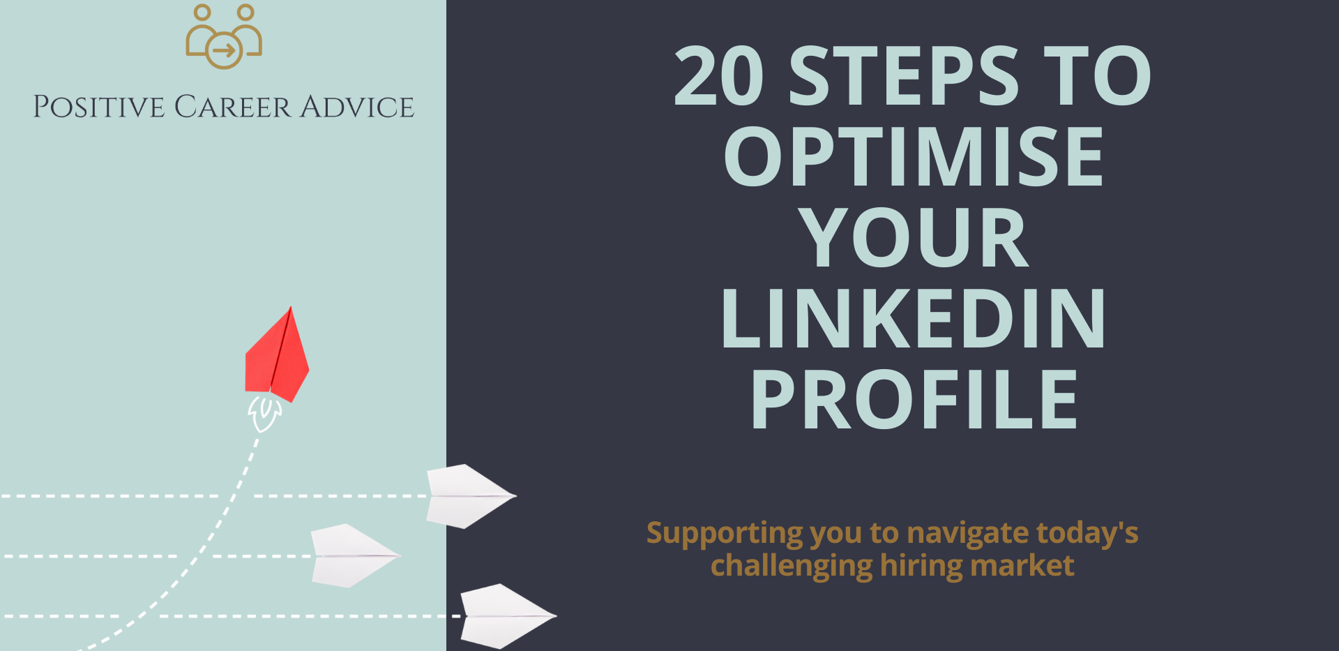 20 Steps to optimise your LinkedIn Profile