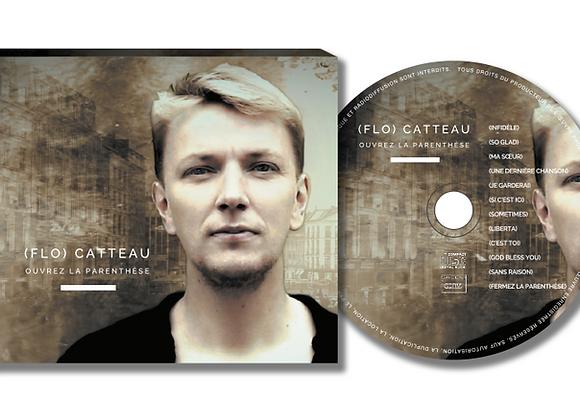 """Album CD """"Ouvrez la parenthèse"""" - 12 titres"""