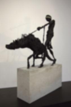 Sclupture - Hyena - Shadow