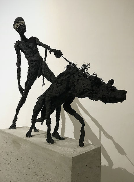 Hyena & man - Blindfold