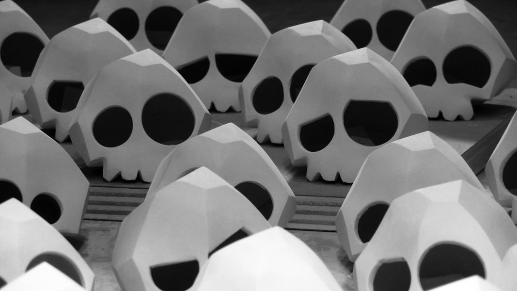 Teeny Tiny Skull. 2013