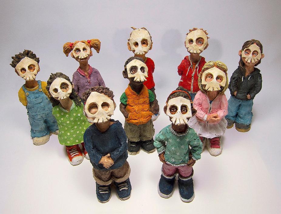 Kids. 2017. Mask - Skull