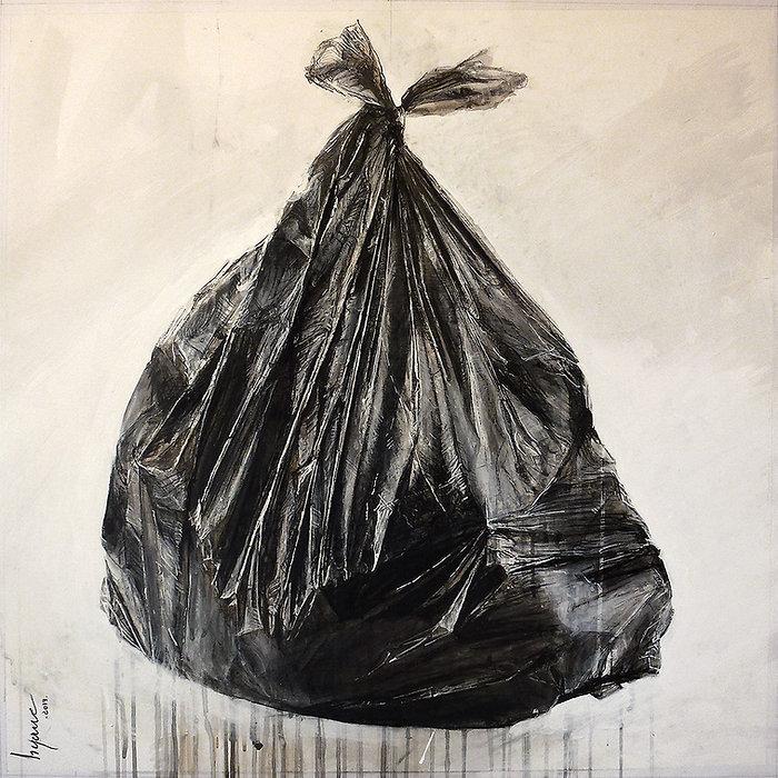 Trashbag n°5. Hyane. 2019.