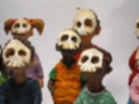 Kids. 2017. Mask - Skull - close up