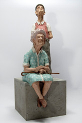 Elders couple