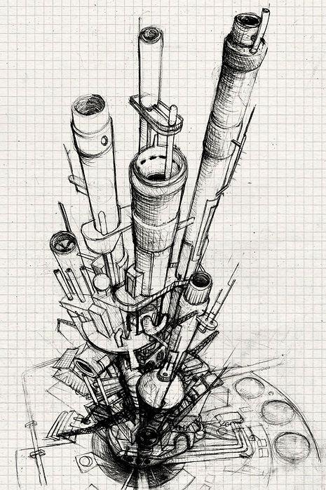 Factories Sketchs