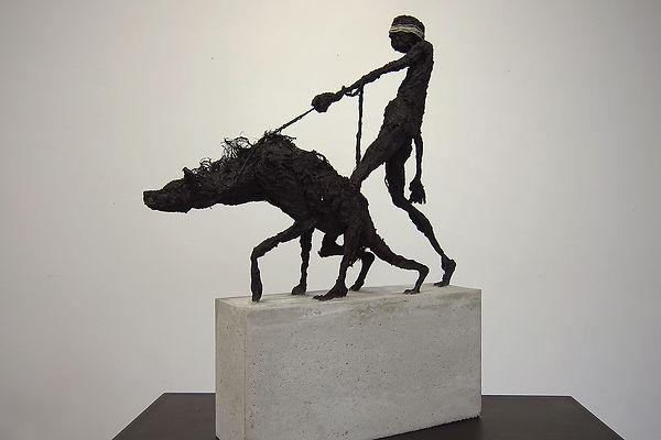 Shadow n°4 - Hyène en laisse