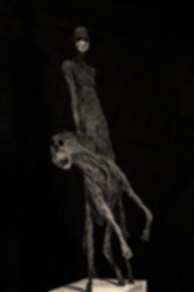 Sculpture. Shadow n°6. Hyane