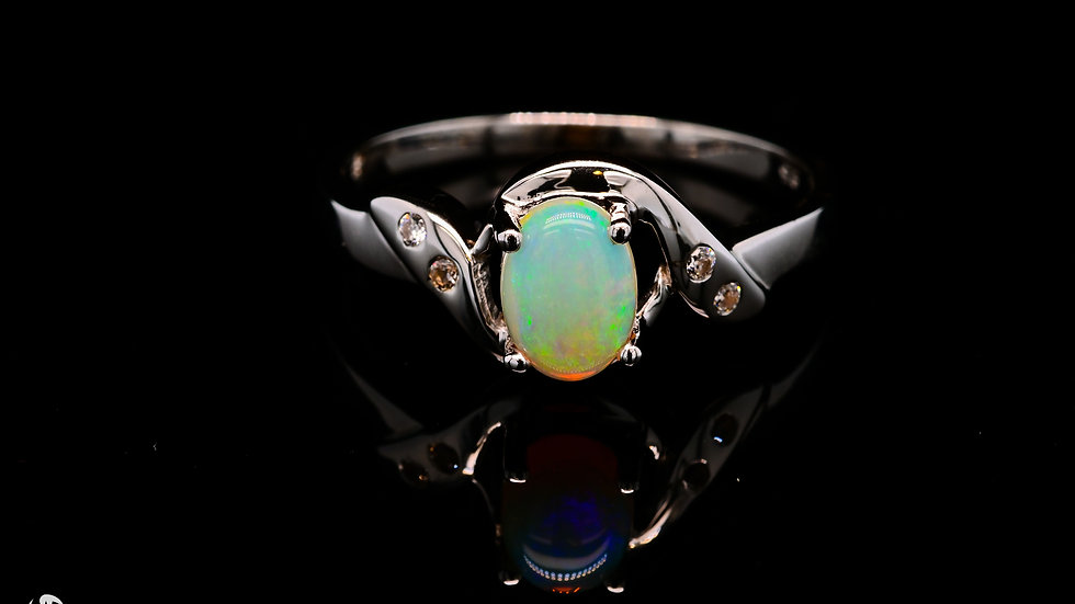 Aqua Light Ring