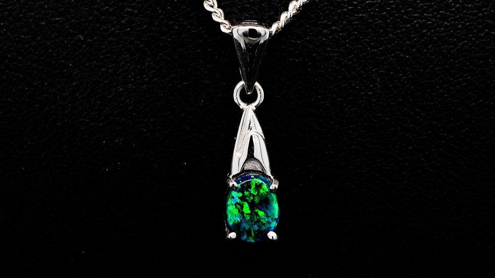 Dainty Emerald Green