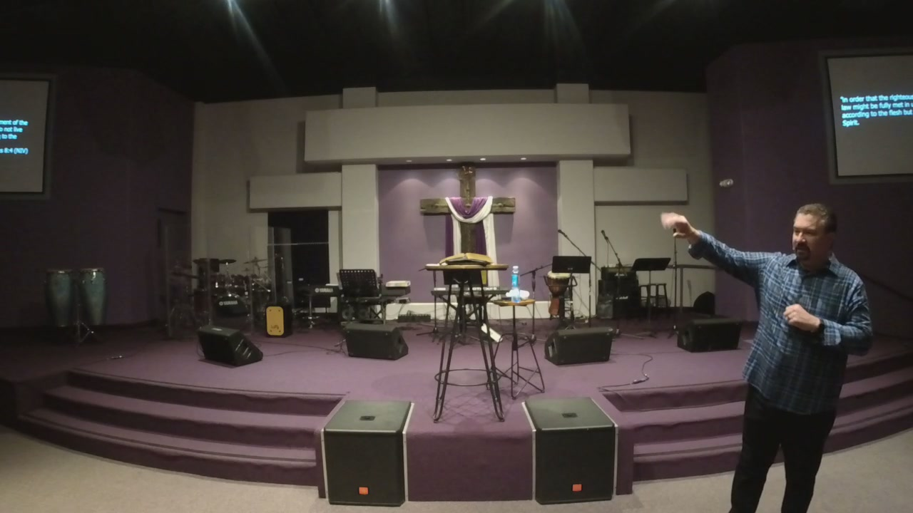 LIVE Sunday Morning 3/3/19: LIVE IN LOVE, Have FREEDOM FROM THE SINFUL NATURE - Pastor Doug Hefley