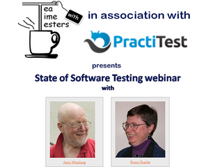 State of Software Testing webinar with Jerry Weinberg & Fiona Charles