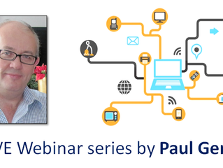 Free webinar: Internet of Everything - What is it & how will it affect you? - part 1