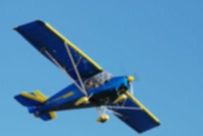 VOL en ULM Air Midi Passion sur notre base à 34 Sauvian