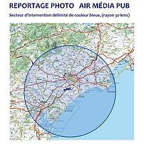 Reportage photo aérienne Aude Hérault