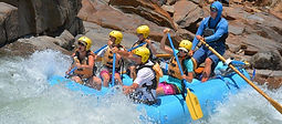 Intermediate full day whitewater rafting trip in the Sierra foothills just 75 minutes from Yosemite Valley for visitors 12 years old and up.