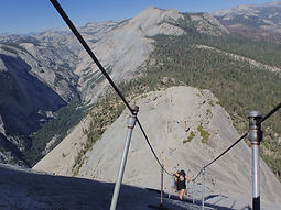 Private day hike to the famed Half Dome Summit beginning in Yosemite Valley in Yosemite National Park. Available to visitors ages 9 and up.