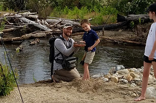 Private, guided, catch & release, fly fishing for trout in the Tuolumne and Merced River watersheds. Available to visitors 7 years old and up of all experience levels and interests.