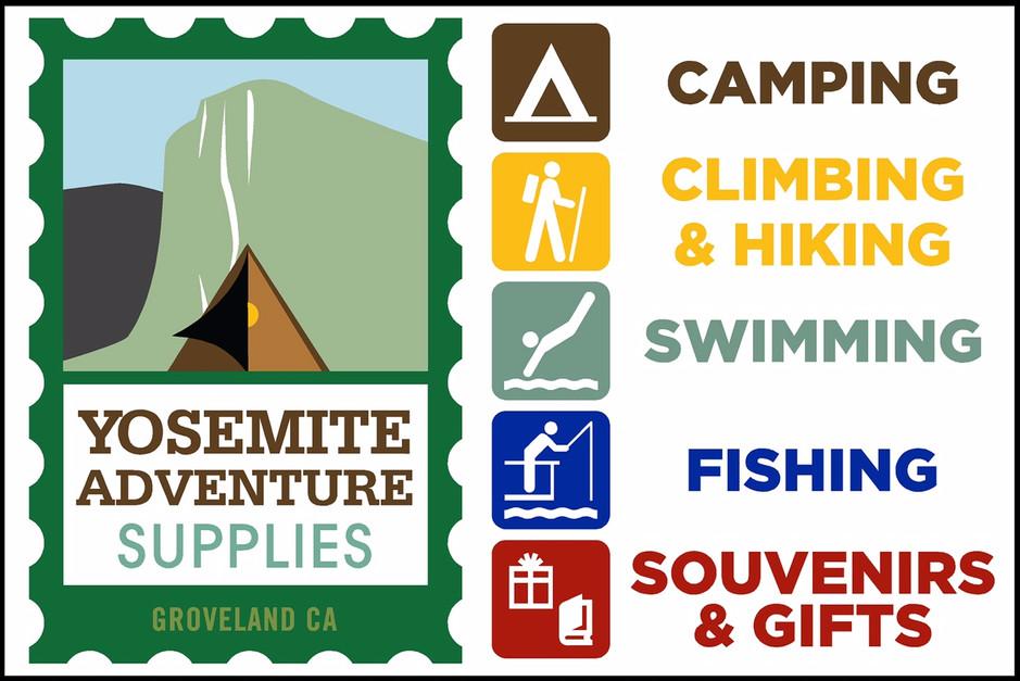Yosemite Adventure Supply Logo