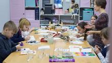 Пластилиновые портреты для Детской Школы Дизайна