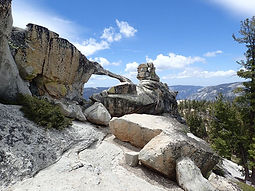 Private day hike to North Dome and Indian Rocks from Tioga Road in Yosemite National Park's high country. Available to visitors ages 9 and up.