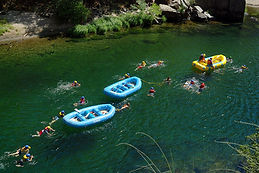Beginner half day whitewater rafting trip in the Sierra foothills just 75 minutes from Yosemite Valley for visitors 7 years old and up.