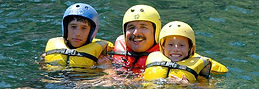 Beginner half day whitewater rafting trip in the Sierra foothills just 75 minutes from Yosemite Valley for visitors 9 years old and up.