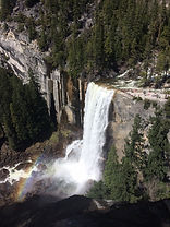 Private day hike on the Vernal Falls Loop on the eastern rim of Yosemite Valley in Yosemite National Park. Available to visitors ages 9 and up.
