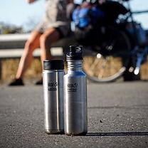 Add on our 27oz Echo branded Klean Kanteen stainless steel water bottle.